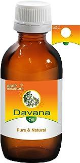 SSCP Botanicals Davana Pure & Natural Essential Oil (Artemisia pallens) (250 ml ( 8.45 Oz) Aluminium Bottle)