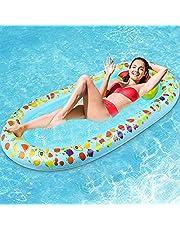 浮き輪 フロート ウォーターベッド マット プラムリーフマット 空気入れ 子供用 大人用 水泳 海水浴 海遊び 水遊び 夏の日 プール おもちゃ