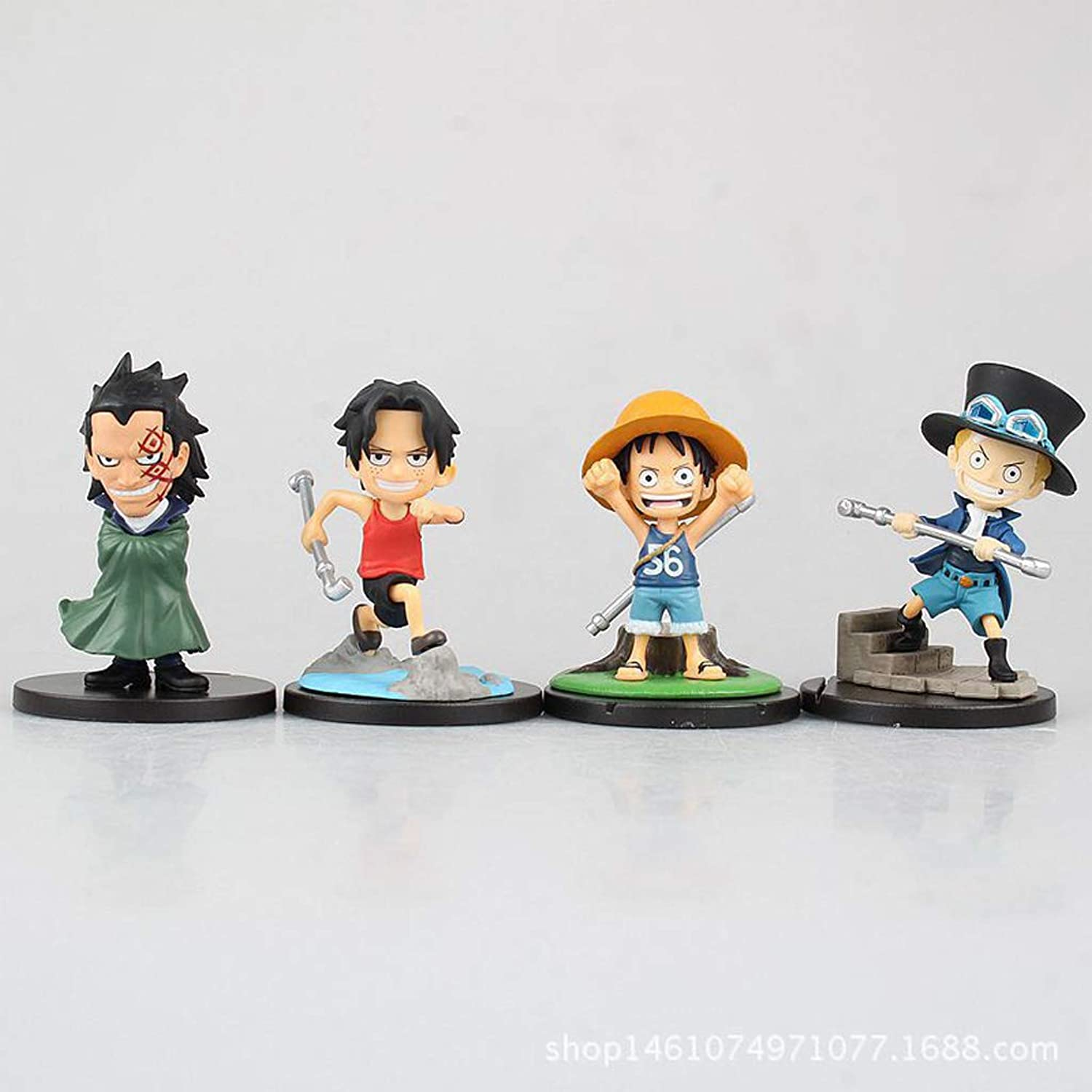 Toy Statue Toy Model Cartoon Character Gift Decoration Birthday Gift Q Edition Combination SHWSM (color   C)