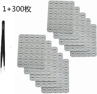 (300枚マット+ピンセット1本)IQOS 清潔マット ピンセット 清掃キット iqosクリーニング iqosクリーンマット iqosクリーナー iqosオイル吸収マット IQOS/IQOS3専用吸収マット