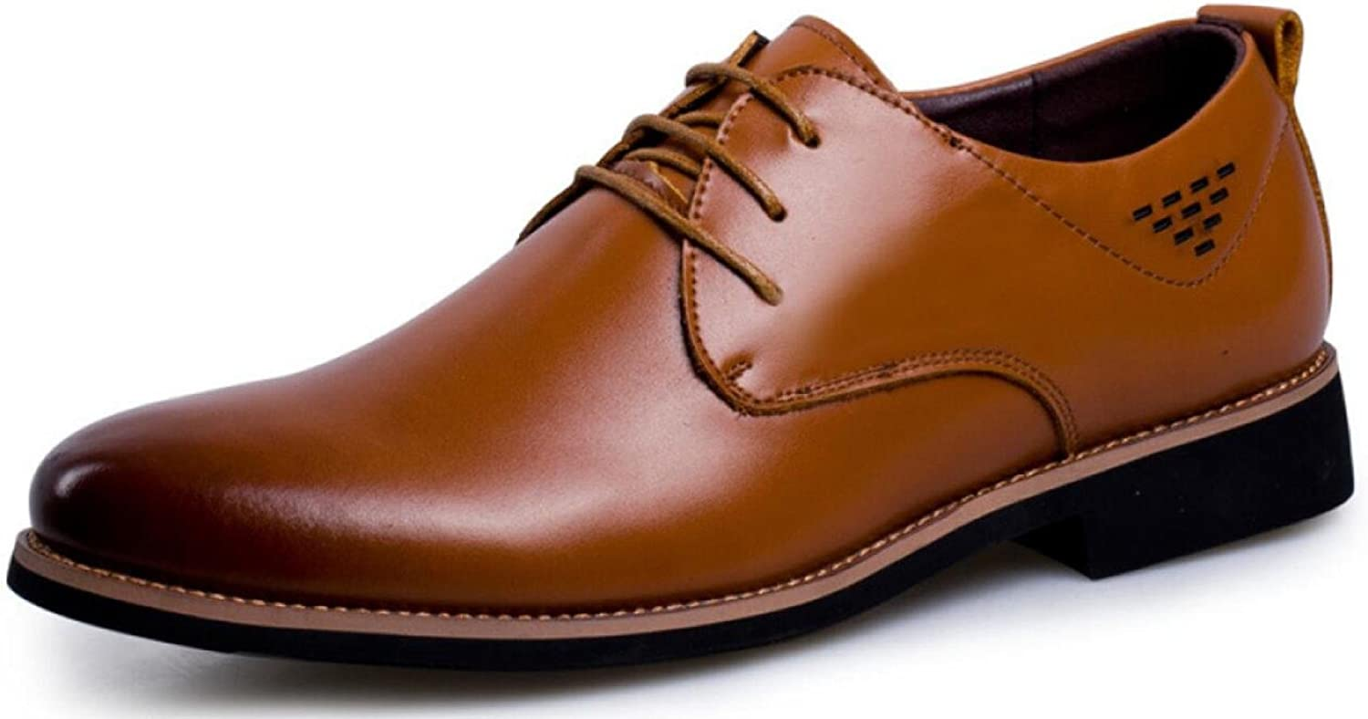 Men's Genuine Leather Casual shoes Formal Wear Business Men's shoes Lace-up shoes