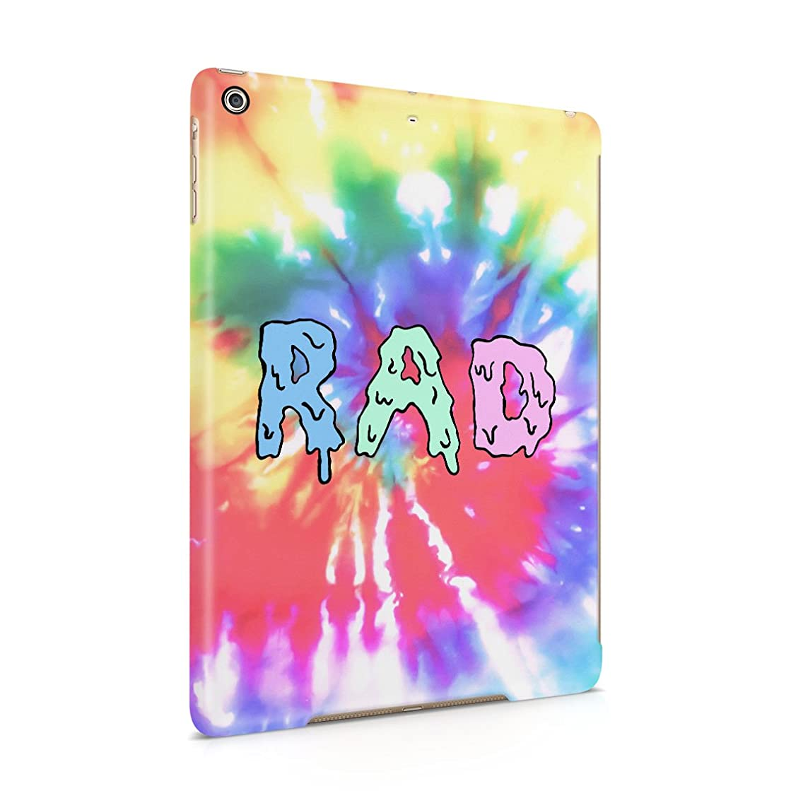 Melting Colourful RAD Trippy Acid Tie Dye Plastic Tablet Snap On Back Cover Shell For iPad Air