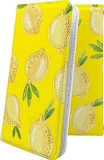 スマートフォンケース・Xperia J1 Compact D5788・互換 スマートフォンケース・手帳型 花柄 花 フラワー レモン 野菜 エクスペリア コンパクト ユニーク おもしろ おもしろスマートフォンケース・XperiaJ1 おしゃれ