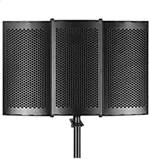 Recording Microphone Isolation Shield, High Density Sound Absorbing Foam, Used to Filter Vocal Noise Deadening, Microphone...