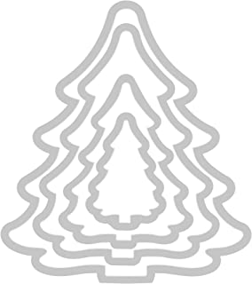 sizzix christmas tree die cut