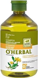 OHerbal Champú Profesional Natural Volumen Para Cabello / Pelo Fino con Extracto De Árnica Ecológico Sin Sulfatos Ni Sili...