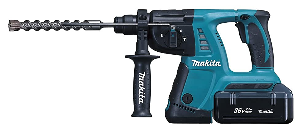 成功する宝機転マキタ(Makita)  充電式ハンマドリル 36V 26mm バッテリー2個付き HR262DWBX