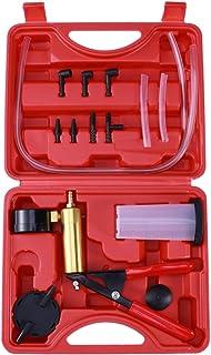 Garneck Kit de teste de reparo prático e portátil para carro com bomba de vácuo de freio e sangramento portátil