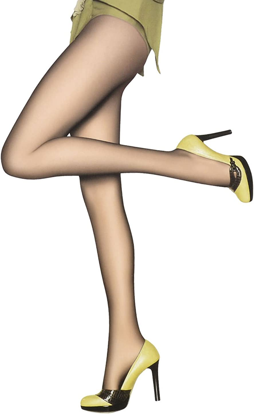Allegra K Ladies Sheer Black Skinny Pantyhose Footed Leggings XS