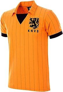 copa Holland 1983 Retro Football Shirt heren Retro Voetbal Kraag T-shirt