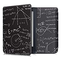 kwmobile 対応: Kobo Nia ケース - 電子書籍カバー PUレザー - オートスリープ Reader 保護 数学と物理 公式デザイン