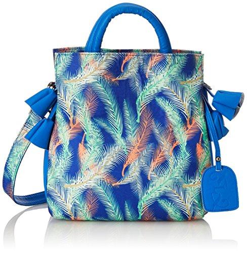 Laura Vita Drap, Sacs portés épaule femme, Blau (Bleu), 11x25x25 cm (B x H T)