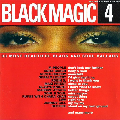 33 emotional Black Music Hits for dreaming and loving (keith washington kissing you / massive attack better things / soul II soul missing you / teddy pendergrass love t.k.o. / earth wind & fire sunday morning / chante moore love's taken over / swv right here / changing faces stroke you up / patti labelle the right kinda lover (kind of) etc. and more)