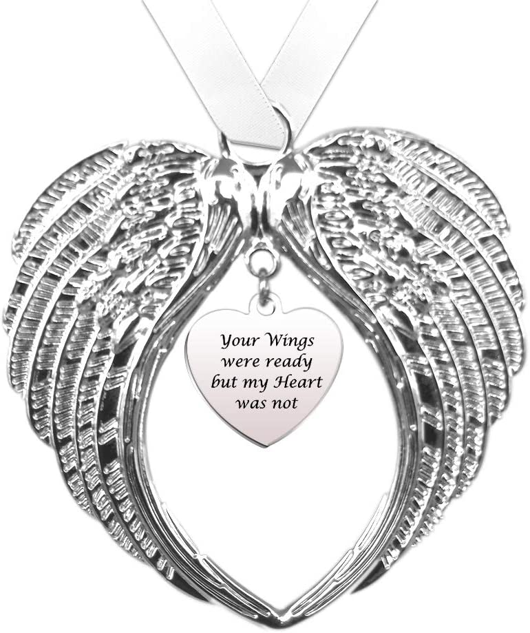 Ranking TOP12 Memorial Christmas Ornaments - Your Free Shipping Cheap Bargain Gift Wings My but were Hear Ready