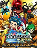 Beyblade Burst Coloring Book: Amazing Coloring Book For Those Who Love Beyblade Burst With Romatic Images To Color And Challenge Creativity