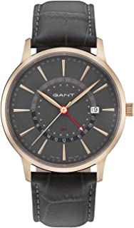 Gant Chester Men Analogue Watch With Grey Dial And Grey Leather Strap - GT026006