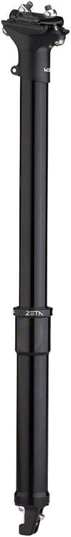 KS Zeta Dropper シートポスト 31.6、50mm トラベルブラック
