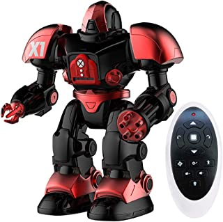 Remote Control Robot Toys, Singing Dancing Shooting RC Robot for Kids, Intelligent Programmable Toy Robot with Battle Mode, Awesome Christmas and Birthday Gift for Boys Age 3,4,5,6,7
