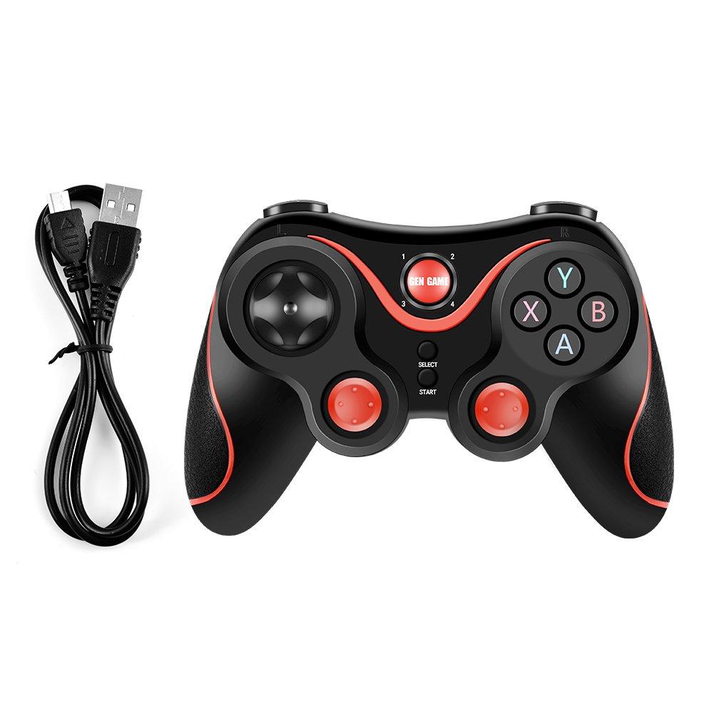 Vbestlife T3- Controlador de Juego Inalámbrico Bluetooth Gamepad Joystick para iOS Android Celular/TV Box/PC/iPad: Amazon.es: Electrónica