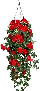 Best artificial outdoor hanging plants Reviews