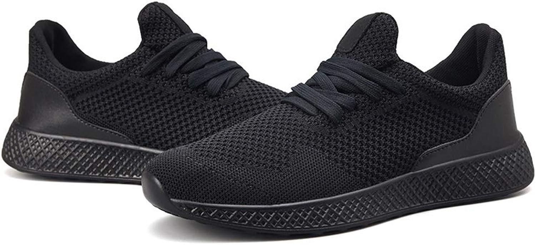 Men's Sports shoes, Large Size Men's shoes, Wild Casual shoes, Men's Running shoes, Cricket shoes (color   Black, Size   41)
