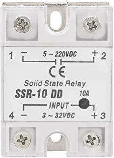 SSR-10 5-220V DC Solid State Relay Module Load DD 10A Reliable Solid State Relay Load for Industrial Automation Process