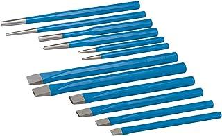 Silverline PC05 - Cinceles y botadores, 12 pzas