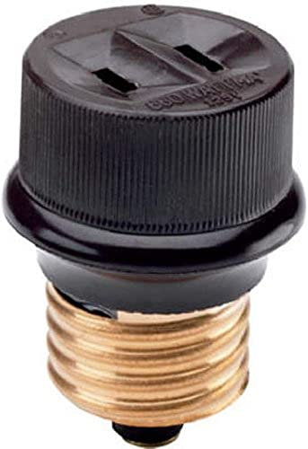 Legrand-Pass & Seymour 808CC10 Easy Installation Product Heavy Duty Impact Resistant Edison Plug Base