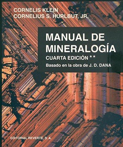 Manual de Mineralogia. Volumen 2