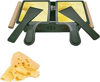 Raclette à la bougie, Une raclette à la Bougie, Poêlons Bougie Four Lent Fromage Pain Grill,Faites Fondre Votre Fromage en...