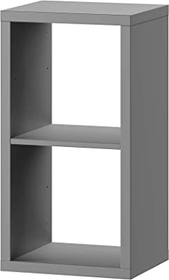 Marque Amazon -Movian MULTIBOX 2, Bookcase, 39.1 x 33.1 x 73.6 cm, Grey