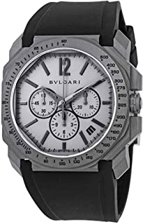 Bvlgari Octo Velocissimo Chronograph Automatic Grey Dial Mens Watch 102859