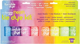SEI Tumble Dye Craft and Fabric Spray 2oz 8/Pkg-Neon Assorted Colors