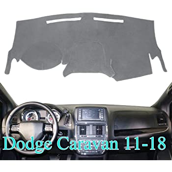 VelourMat Dashboard Cover for Dodge Grand Caravan - Plush Velour, Beige 71935-01-23 Covercraft DashMat