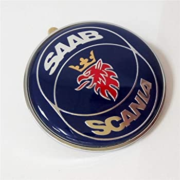 REAL Embem - not a sticker Saab 9-3 CONVERTIBLE Trunk Emblem GENUINE factory part