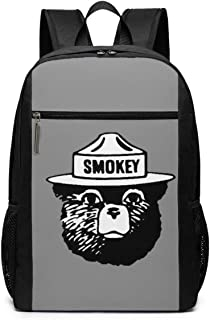 Smokey The Bear Keep It Green Backpack 17 Inch Large Travel Backpack School Backpack
