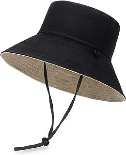 Sombrero de Pescador,Algodón Plegable Bucket Hat Unisex para hombres Mujeres Adolescentes Acampar al AireLlibre Senderismo...
