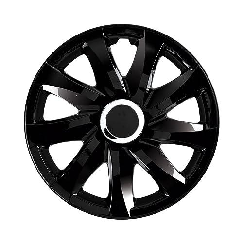 "NRM Universal Wheel Trims DRIFT Black 16"", set 4 pieces"