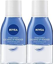 NIVEA, Face Cleanser, Eye Makeup Remover, Double Effect, Sensitive, 2 x 125ml