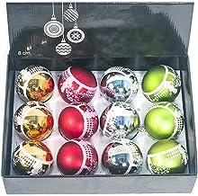 12-Piece Set Frosted Matt Christmas Ball Pendant Christmas Tree Pendant Christmas Ball Set