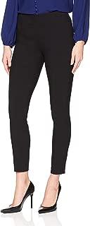 Lark & Ro Womens Deep Black US Size Small S Dress Legging Pants Stretch