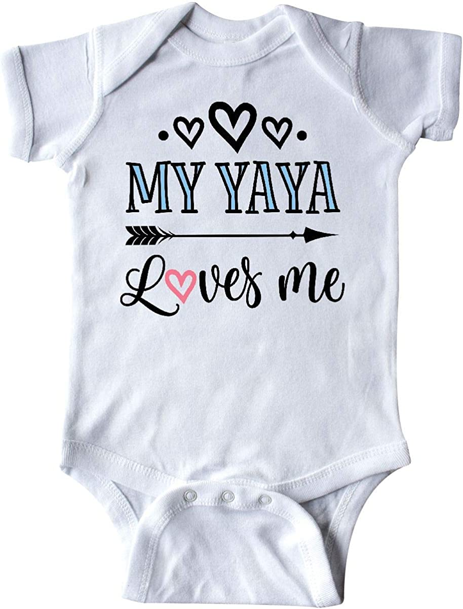 inktastic My Yaya Loves discount Me Year-end gift Infant Gift Creeper Grandchild