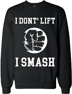 Lift I Smash Strong Powerful Hand Classic Sweatshirt