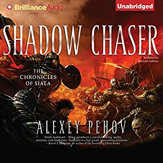 Shadow Chaser audiobook cover art