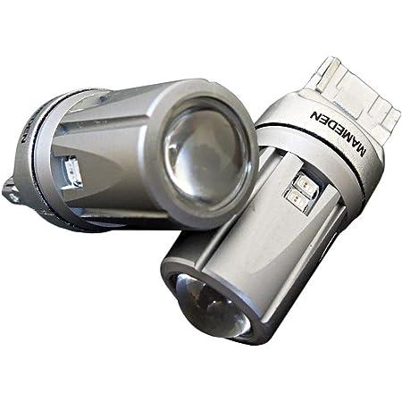 まめ電(MAMEDEN) T20 LED オレンジ 30SMD ウインカー(ウェッジ球 シングル ピンチ部違い アンバー)LEDバルブ2個セット
