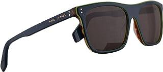 Marc Jacobs Marc 393/S Sunglasses Transparent Teal Tea w/Brown Lens 56mm ZI970 Marc 393S Marc393S Marc393/s