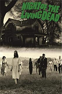 Night of the Living Dead Movie Poster Zombies - Officially Licensed