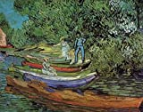 The Poster Corp Vincent Van Gogh – Bank of Oise at Auvers