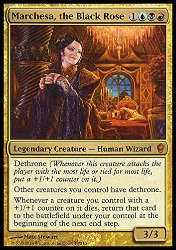 Magic The Gathering - Marchesa, The Black Rose (/65) - Conspiracy