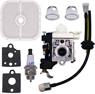 FitBest Carburetor RB-K85 with Repower Maintenance Kit Gaskets Spark Plug Air Filter for Echo A021001350 A021001351 PB-251 PB-265L PB-265LN
